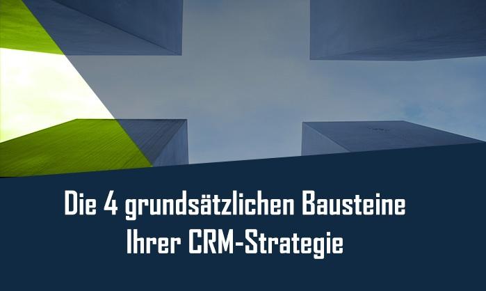 CRM Strategie Bausteine